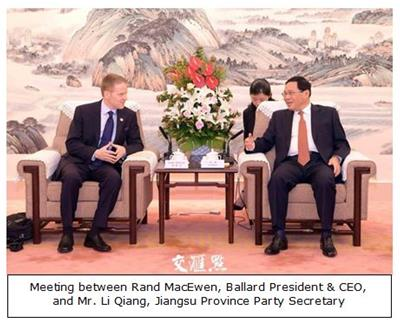 Meeting with Li Qiang