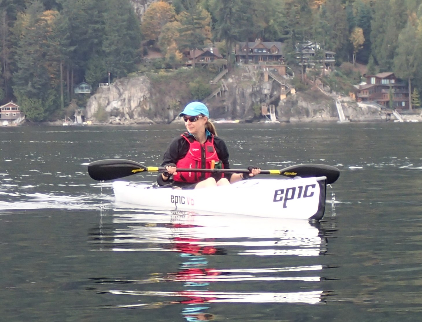 Kayaking Deep Cove 2