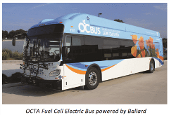 OCTA Bus Powered by Ballard
