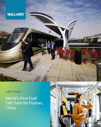 World's first commercial FC powered tram line