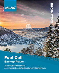 FC Backup power - an attractive value prop. for zero emission backup power in Scandinavia