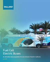 Fuel cell electric buses value proposition for transit in CA