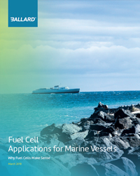 Fuel cell applications for Marine Vessels