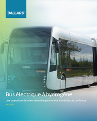 Fuel cell electric bus an attractive value proposition for zero emission buses in France - French