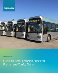 Fuel cell zero-emission buses for Foshan and Yunfu, China