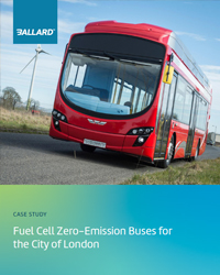 Fuel cell zero-emission buses for the City of London
