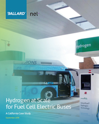 Hydrogen at Scale for fuel cell electric buses - CA case study
