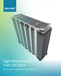 High performance fuel cell stack