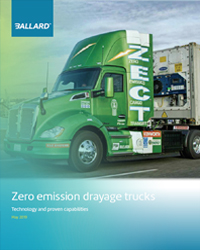 Zero Emission drayage trucks