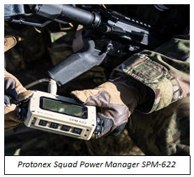 SPM-622 in the field with caption